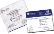Proquim UV é certificada pela Aquafine