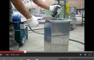 Conheça a cravadora hidráulica para perfil da Powermatic