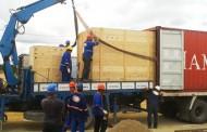 Equipamentos para produção de água purificada chegam à fábrica da Hemobrás