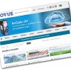 Site da Novus está com novo layout