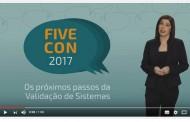 TV Boas Práticas destaca o FiveCon 2017, evento sobre Validação de Sistemas Computadorizados