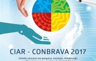 CIAR CONBRAVA 2017: tecnologia e informação em favor da sociedade e do meio ambiente