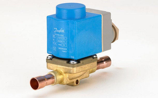 Danfoss qualifica válvulas solenoides EVR para sistemas com R1234ze e sem óleo