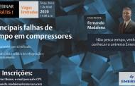 """Emerson realiza WEBNAR GRATUITO com o tema """"PRINCIPAIS FALHAS DE CAMPO EM COMPRESSORES"""""""