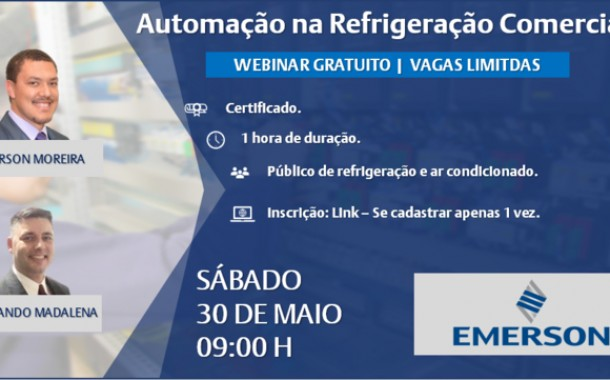 Participe do Treinamento de Automação na Refrigeração Comercial