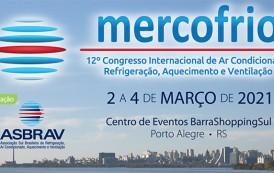 Congresso Mercofrio é adiado para março de 2021