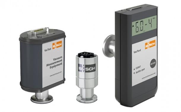 Busch lança nova série de equipamentos de medição de vácuo