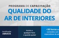 Qualindoor ABRAVA lança curso EAD inédito de qualidade do ar de interiores