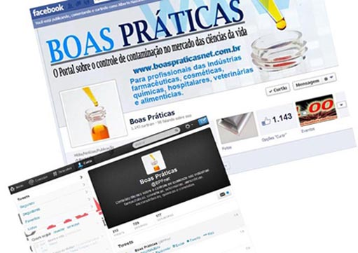 Acompanhe a FCE Pharma online pelo Facebook e Twitter