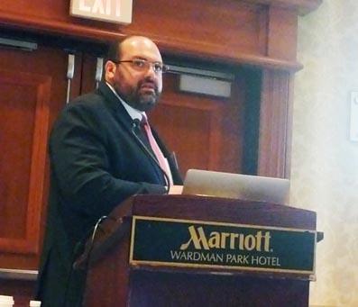 Luciano Tavares teve a honra de ser um dos palestrantes do evento.
