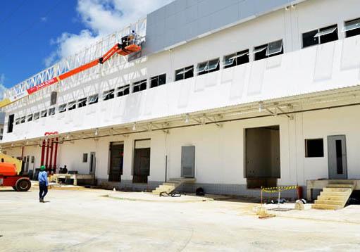 Confira o andamento das obras da fábrica da Hemobrás