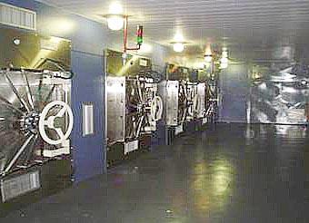 Câmaras de esterilização. Divulgação Bioxxi