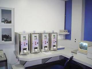 Central de comando onde são monitorados os parâmetros do ciclo. Divulgação Bioxxi.