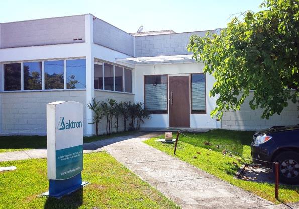 Sede da Baktron, no Rio de Janeiro (RJ).