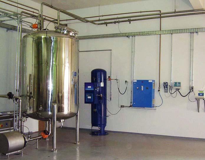 Sanitização da água PW com ozônio e ultravioleta.Divulgação Proquim UV.