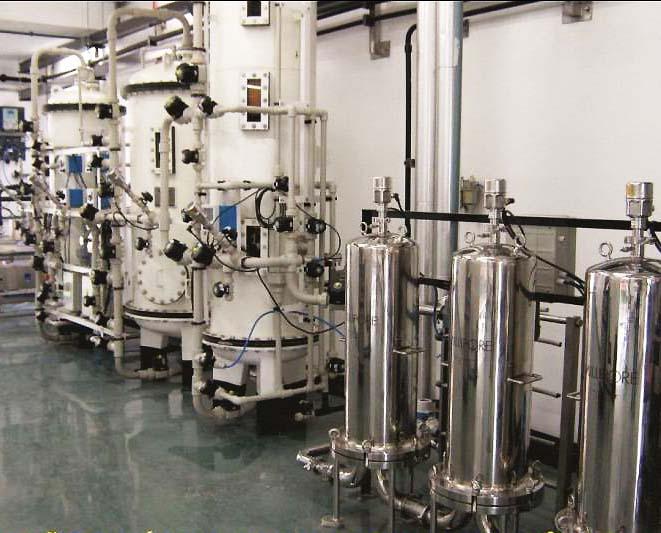 Geração de água PW e WFI por troca iônica. Divulgação Proquim UV.