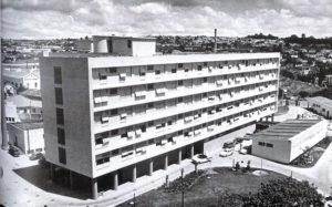 Prédio atual na década de 60 - Divulgação