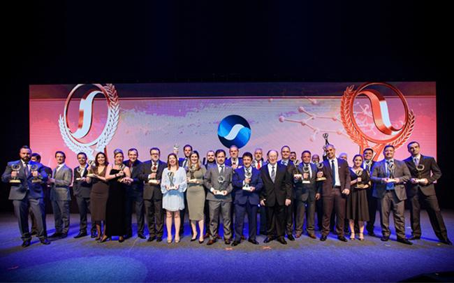 Premiados no Credicard Hall os melhores fornecedores da indústria farmacêutica