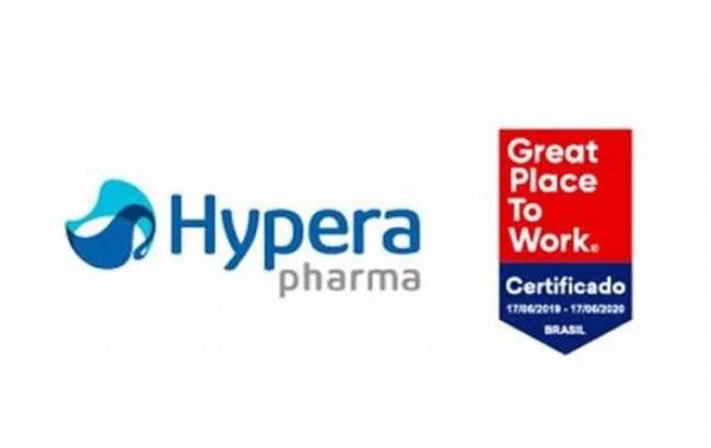 Hypera Pharma conquista certificação Great Place to Work