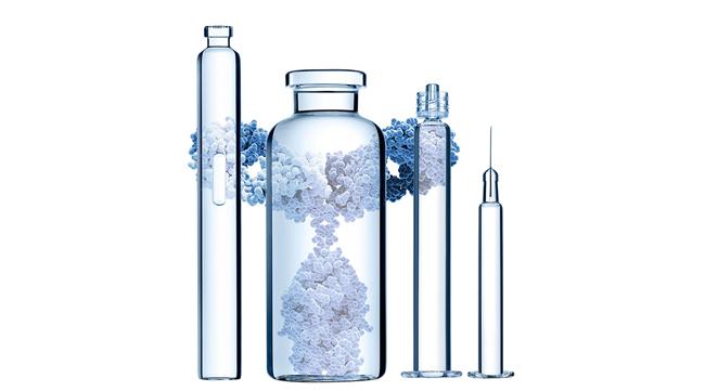 A embalagem primária ideal para medicamentos biológicos de estruturas complexas