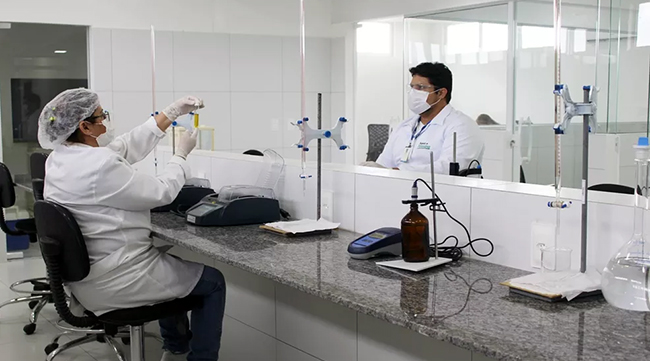 Para acompanhar a evolução do índice de esgotamento sanitário, laboratório de efluentes foi totalmente ampliado. | Foto: Ascom Águas de Teresina