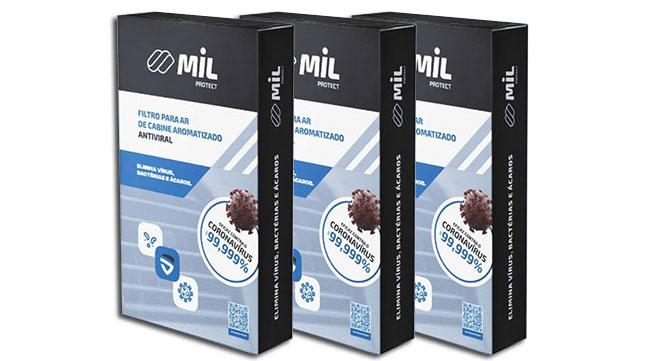 Primeiro filtro de ar-condicionado antiviral do Brasil