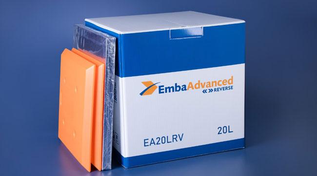 EmbaAdvanced Reverse traz segurança e estabilidade térmica para o transporte de medicamentos de alto custo e vacinas para COVID-19