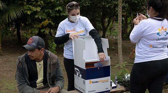 Grupo Emba e RV Ímola participam da vacinação contra COVID-19 no município de Cananéia, SP