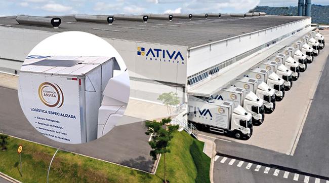 Ativa Logística testa placas solares na frota para reduzir consumo de diesel